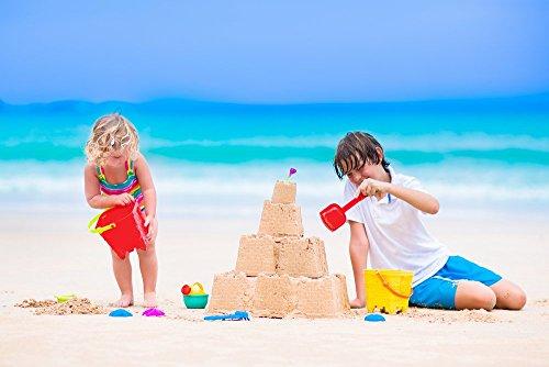 4myBaby GmbH Best for Garden Spielsand Eco Quarzsand für Sandkasten Dekosand TÜV geprüft (25kg)*