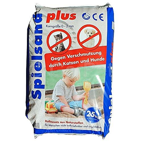 GarPet Spielsand Plus 25 Kg TÜV Nord Spielkasten Sand für Sandkasten Kinderspielsand*