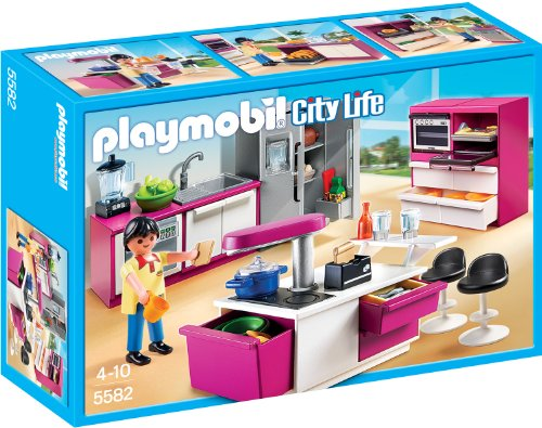 PLAYMOBIL City Life 5582 Designerküche, Ab 4 Jahren*