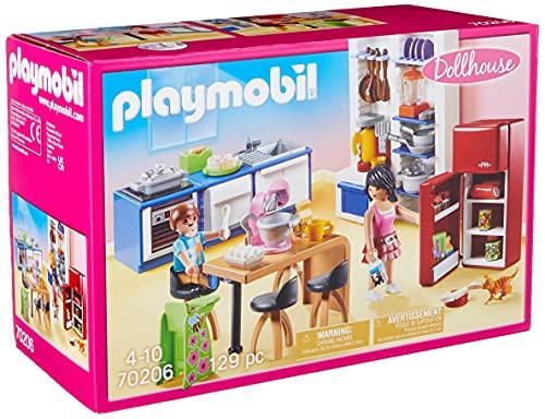 PLAYMOBIL Dollhouse 70206 Familienküche, Ab 4 Jahren*