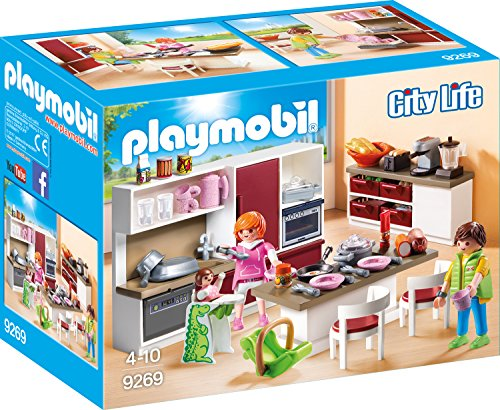 Playmobil City Life 9269 Große Familienküche, Ab 4 Jahren*