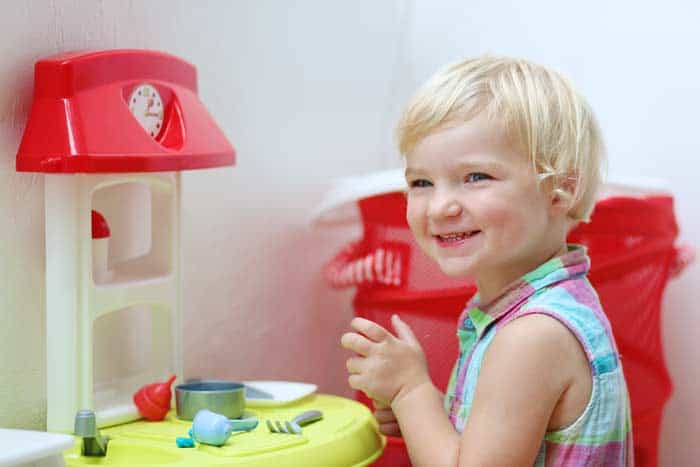 Das Spiel mit der Spielküche (depositphotos.com)